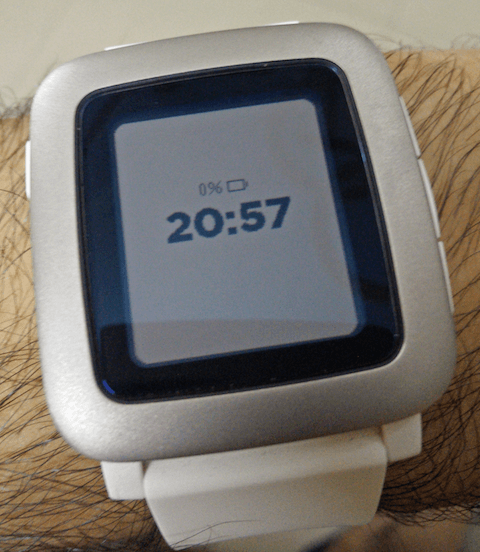 Image of Pebble on standby
