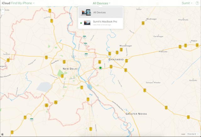 image of find my mac
